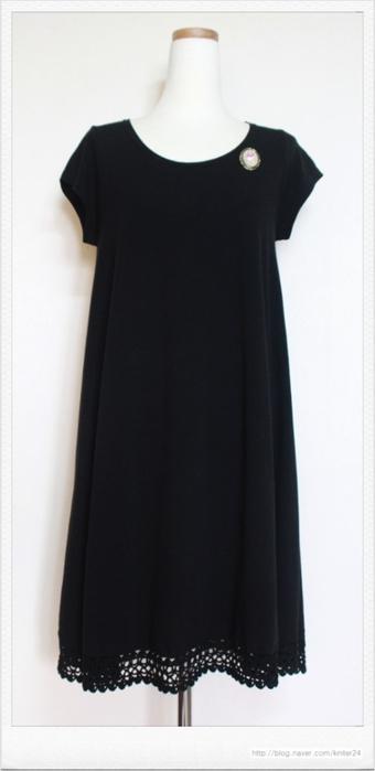 Как удлинить или украсить подол юбки крючком. Схема (4) (340x700, 87Kb)