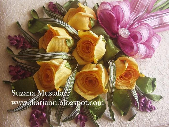 розы. объемная вышивка лентами (7) (700x525, 346Kb)