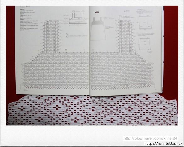 Сарафан из кокетки крючком и шифонового платка (7) (586x471, 164Kb)
