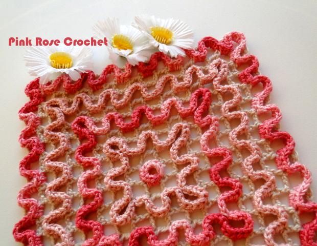 Pega Panelas Rosa Croche Ondulado Crochet Wiggly Pot Holders (620x480, 523Kb)