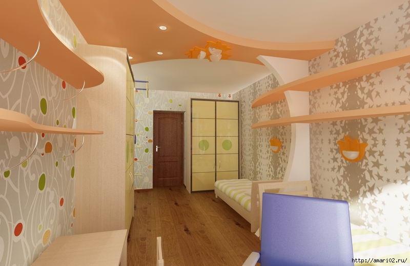 Идеи дизайна интерьера детской комнаты. обсуждение на livein.