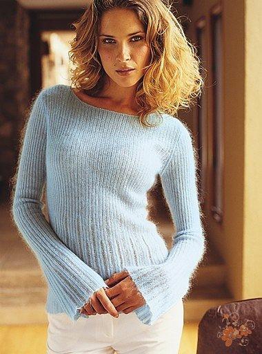 Пуловер Из Тонкой Пряжи С Доставкой