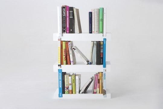 Minimal Bookshelf 04