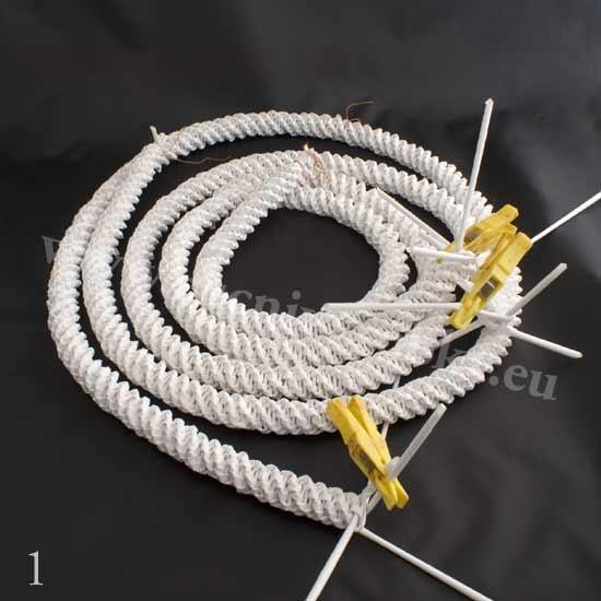 плетение из газет. белый лебедь (2) (550x550, 99Kb)