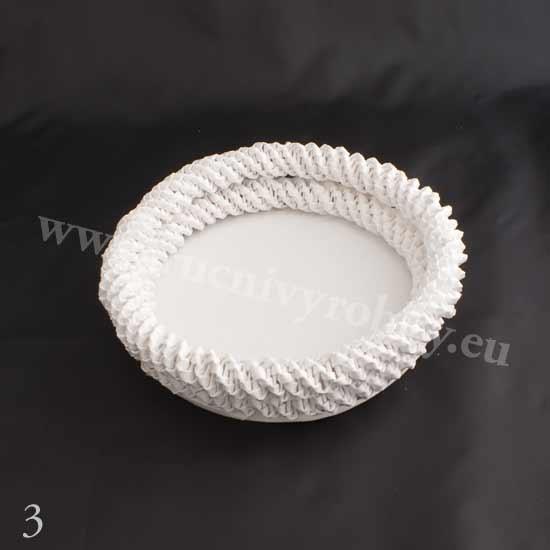плетение из газет. белый лебедь (4) (550x550, 46Kb)
