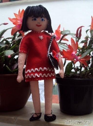 Как сшить куколку из фетра. Мастер-класс (34) (381x516, 138Kb)