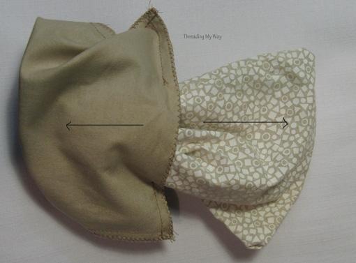 Мастер-класс. Как сшить мешочек на кулиске, с подкладкой (6)