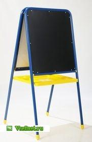 Мольберт Деми магнитно-маркерный с буквами с большим лотком(синий) (181x280, 10Kb)