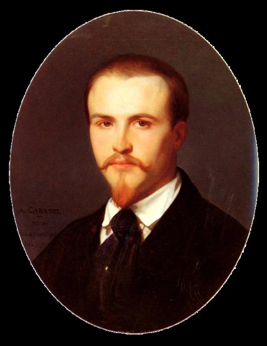 Александр Кабанель Автопортрет (541x700, 374Kb)