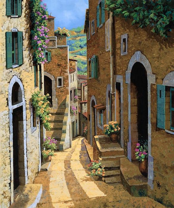 Il mondo di Mary Antony: Guido Borelli - realismo paesaggistico
