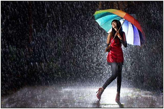 осень дождик зонтик (700x467, 262Kb)