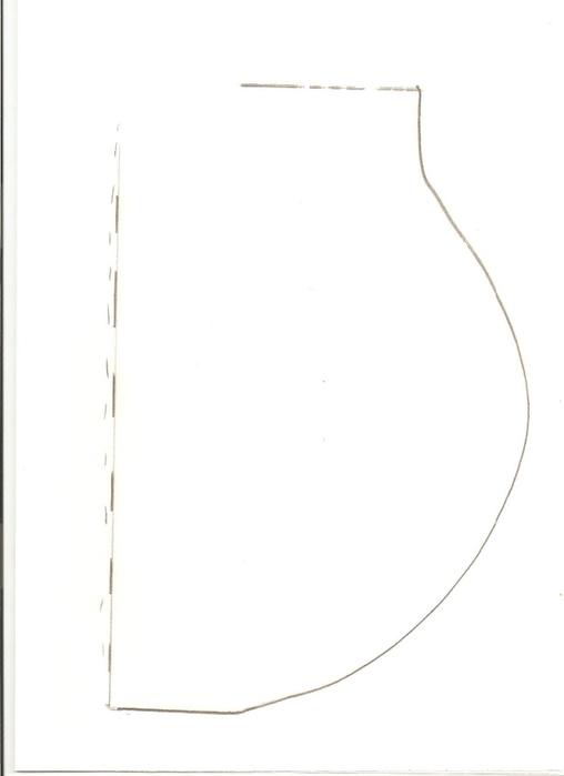 Шаблон гитары из картона (4) (508x700, 36Kb)
