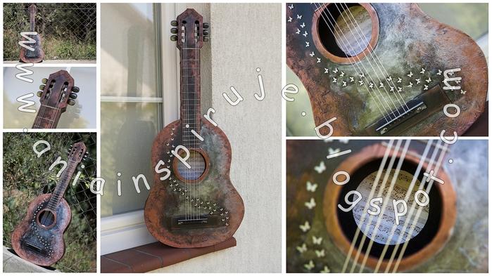 Создание гитары из картона. Мастер-класс (24) (700x393, 247Kb)