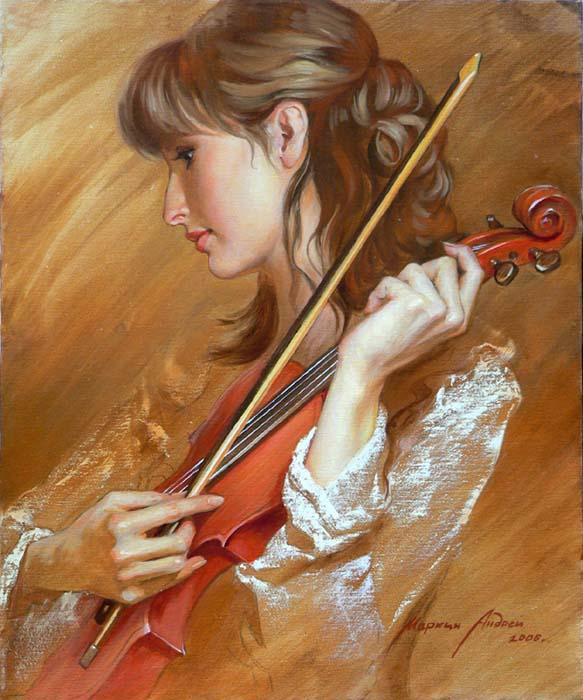 красная скрипка (583x700, 393Kb)