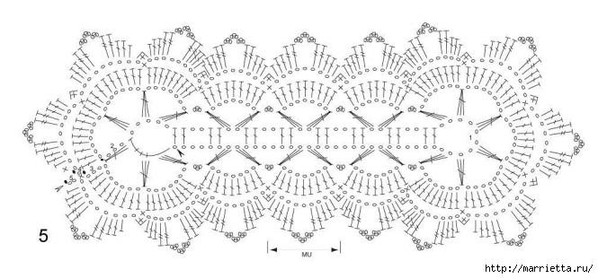 Стильное вязание крючком для дома. Схемы (1) (665x310, 133Kb)