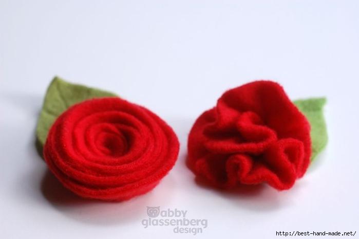 不织布 鲜花 制作步骤 - dudu的日志 - 网易博客
