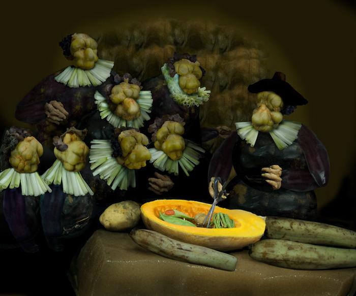 овощные картины Ю Дуоки 14 (700x583, 258Kb)