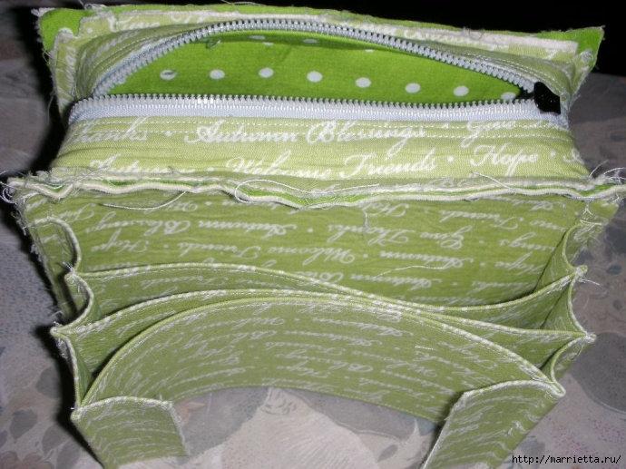 Как сшить сумочку-портмоне. Выкройка и мастер-класс (9) (690x517, 233Kb)