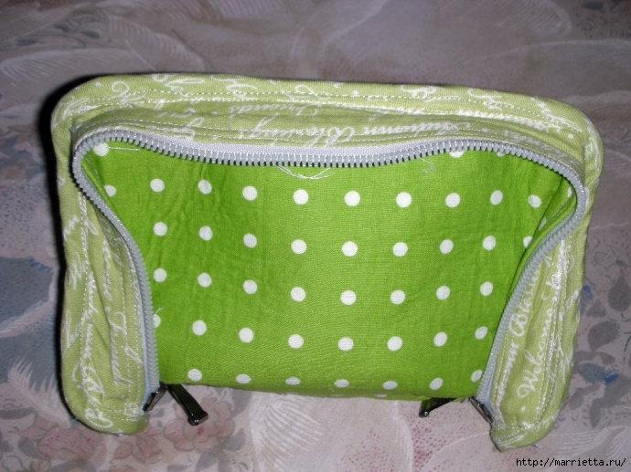 Как сшить сумочку-портмоне. Выкройка и мастер-класс (11) (690x517, 226Kb)