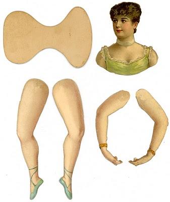 Выкройки одежды для старинных кукол