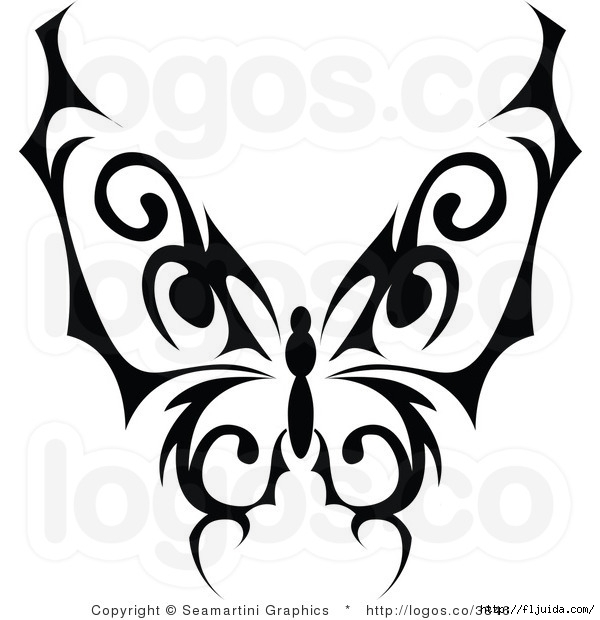 royalty-free-black-butterfly-logo-by-seamartini-graphics-media-3846 (600x620, 127Kb)