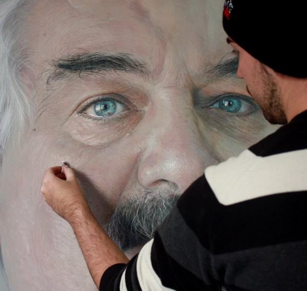 фотореалистичные портреты художника Рубена Беллосо Адорна 3 (600x568, 202Kb)