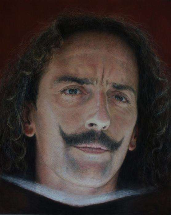 фотореалистичные портреты художника Рубена Беллосо Адорна 5 (556x700, 282Kb)