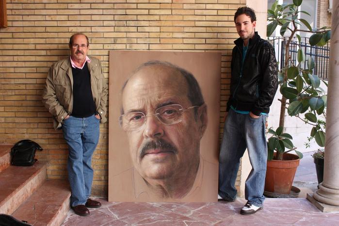 фотореалистичные портреты художника Рубена Беллосо Адорна 15 (700x466, 381Kb)