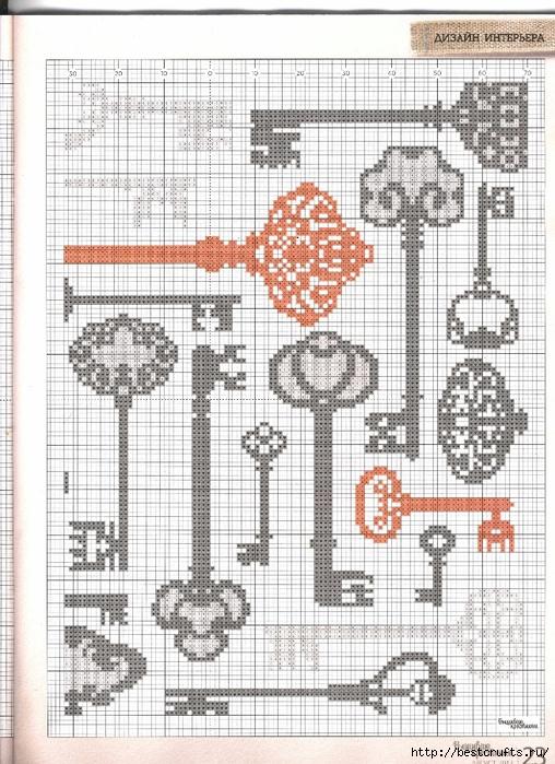 Вышиваю крестиком. Журнал со схемами (13) (508x700, 327Kb)