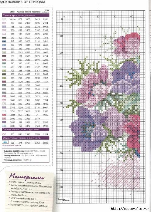 Вышиваю крестиком. Журнал со схемами (24) (497x700, 338Kb)