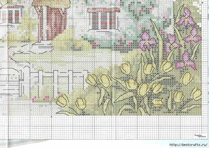 Вышиваю крестиком. Журнал со схемами (58) (700x497, 409Kb)