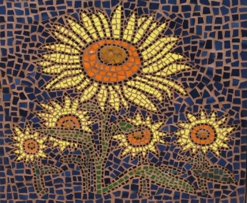 Рисунки для мозаики из битой плитки своими руками
