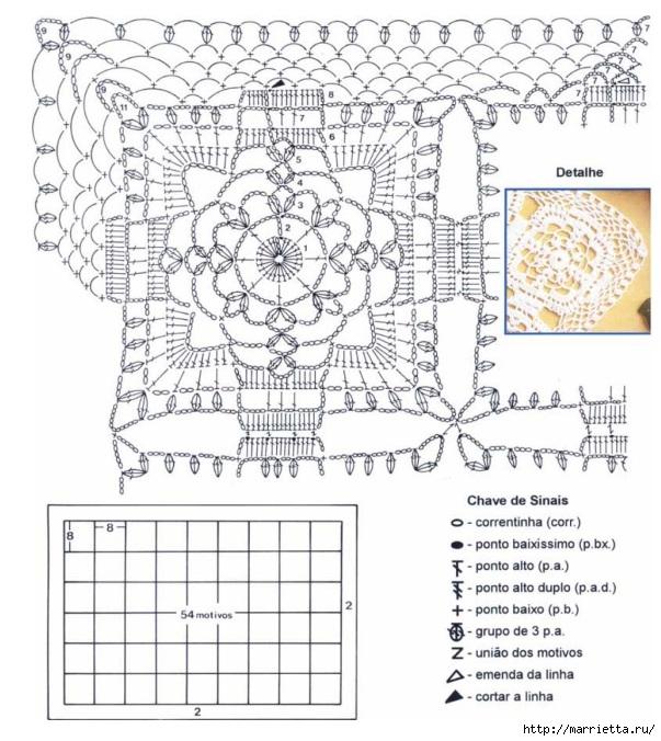 модное вязание крючком для дома. схемы (2) (603x676, 261Kb)