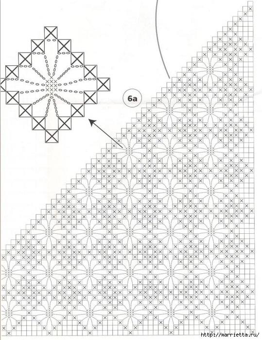 модное вязание крючком для дома. схемы (13) (539x698, 268Kb)