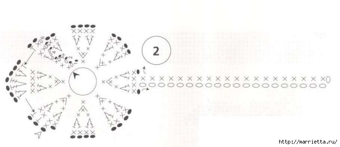 модное вязание крючком для дома. схемы (24) (698x302, 69Kb)