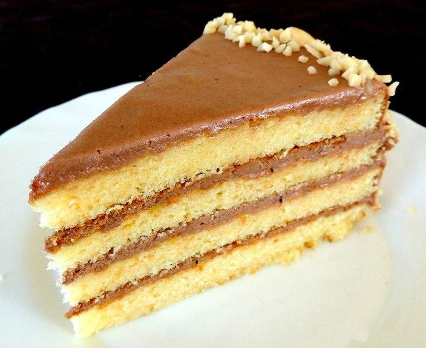 торт из сгущенки рецепт с фото простой