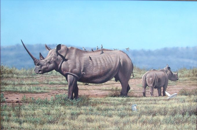животные в картинах художников Эрик Уилсон 1 (680x448, 167Kb)
