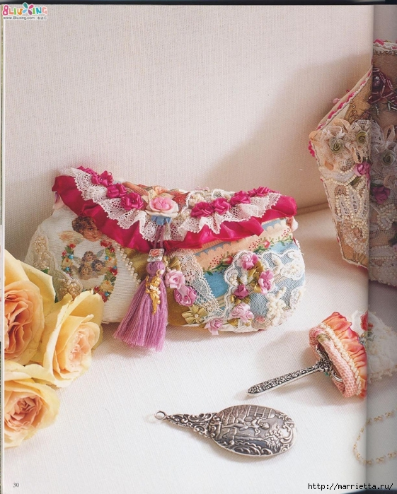 Лоскутное шитье с вышивкой в викторианском стиле (10) (561x700, 324Kb)