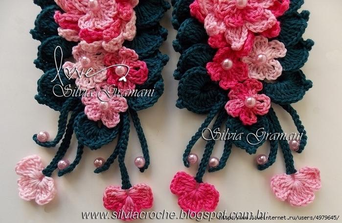 Silvia Gramani cordáo marie rose flores em baixo (700x455, 283Kb)