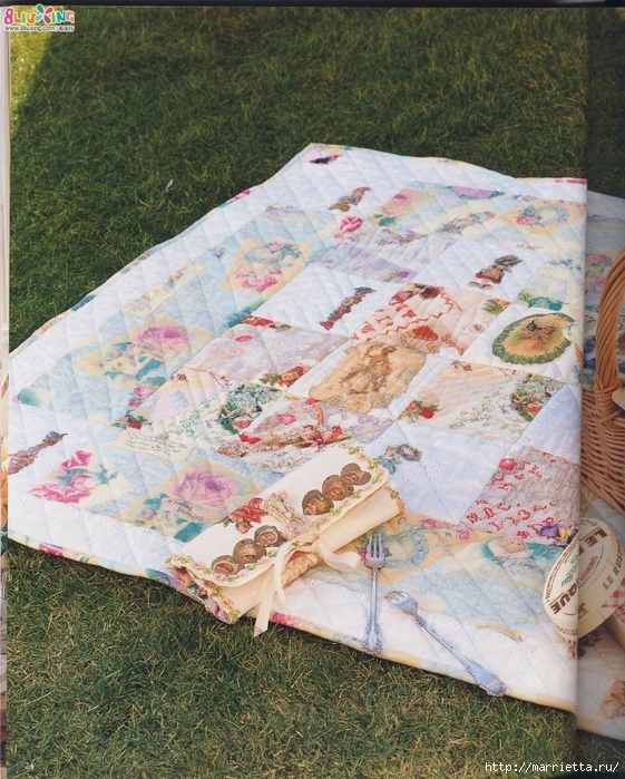 Лоскутное шитье с вышивкой в викторианском стиле (73) (561x700, 395Kb)