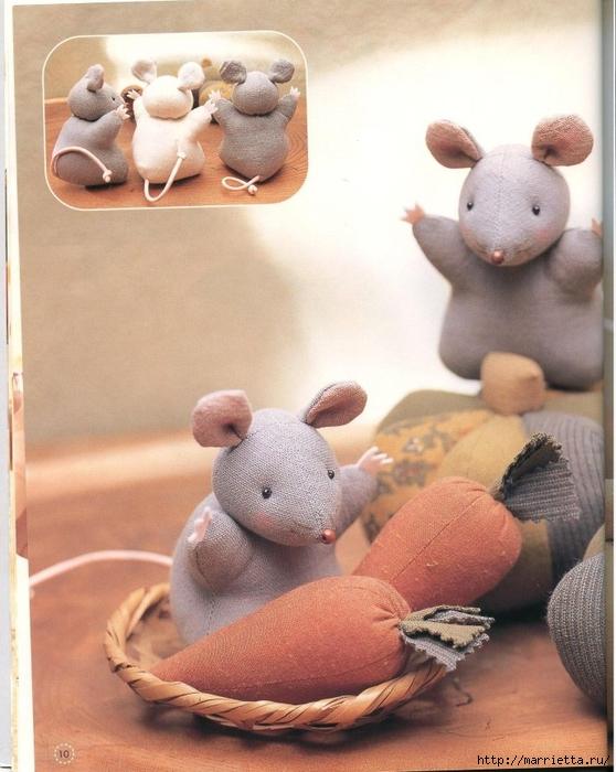 шьем игрушки. Замечательный журнал с выкройками игрушек (10) (558x700, 267Kb)