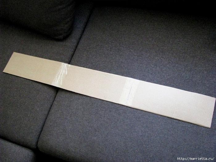 Кашпо для комнатных цветов из картонной коробки и упаковочной бумаги (4) (700x525, 298Kb)