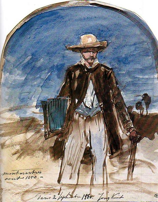 Portrait de l\'artiste par lui-meme - 1850 (547x700, 543Kb)