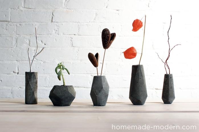Свечи и гипсовые вазочки геометрической формы. Шаблоны и мастер-класс (13) (700x462, 158Kb)