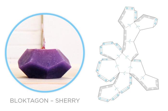 Свечи и гипсовые вазочки геометрической формы. Шаблоны и мастер-класс (19) (700x462, 100Kb)