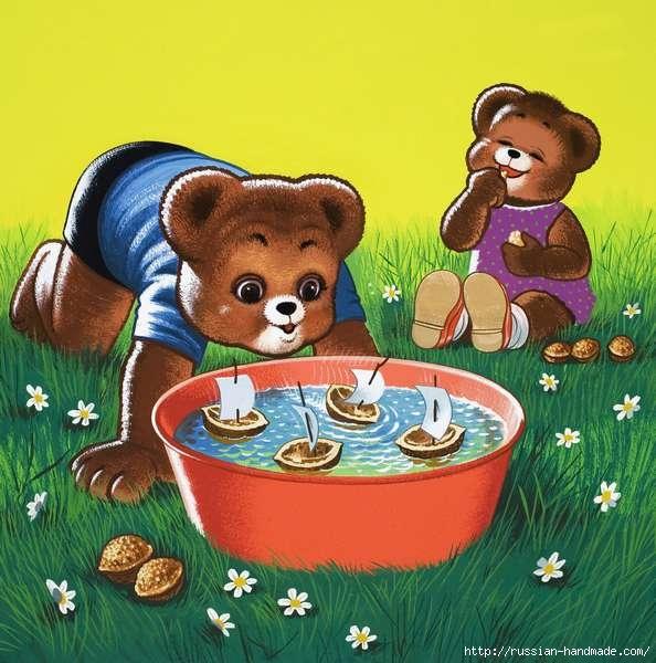 Веселые иллюстрации с мишками от Уильяма Фрэнсиса Phillipps (27) (594x600, 184Kb)