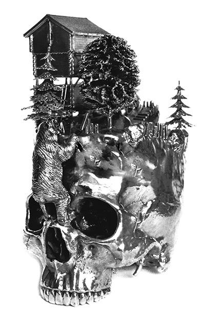 скульптуры Фродо Миккельсен фото 1 (400x614, 147Kb)