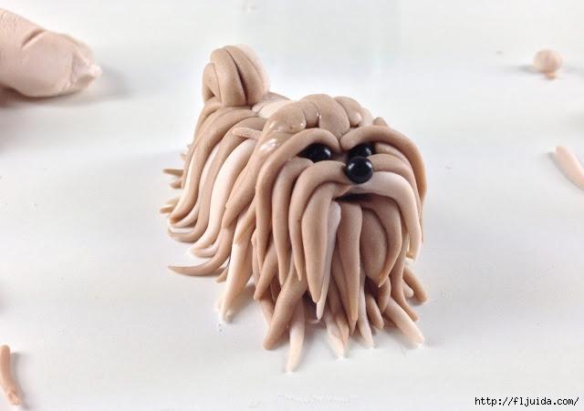 Собака из фоамирана мастер класс