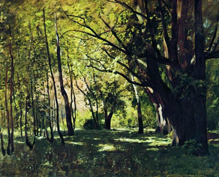 В парке. 1895 (700x566, 96Kb)