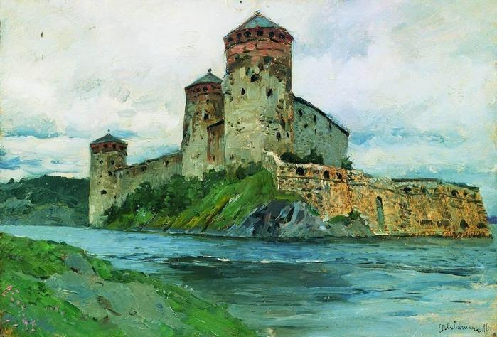 Крепость. Финляндия. 1896 (700x474, 63Kb)